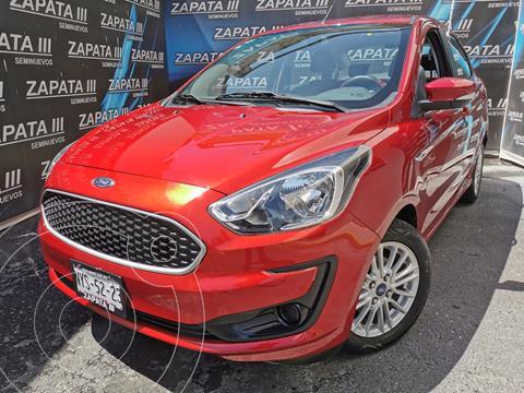Ford Figo Sedan Energy usado (2020) color Rojo Rubi financiado en mensualidades(enganche $60,000 mensualidades desde $5,612)