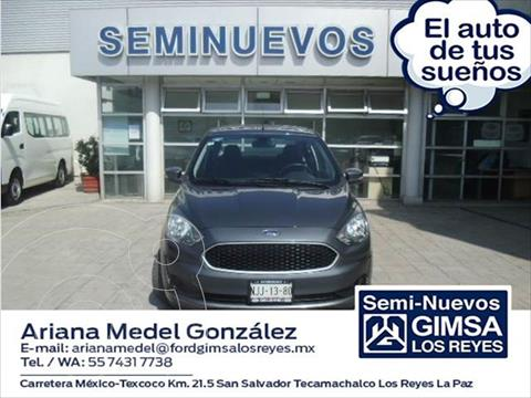 Ford Figo Sedan Impulse A/A usado (2019) color Gris Oscuro precio $170,000