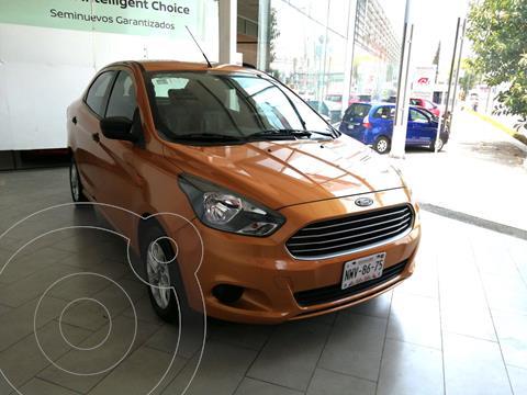 Ford Figo Sedan Energy usado (2016) color Naranja precio $146,000