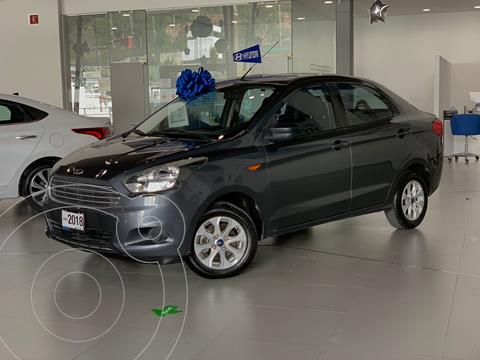 Ford Figo Sedan Energy usado (2018) color Gris Oscuro precio $175,000