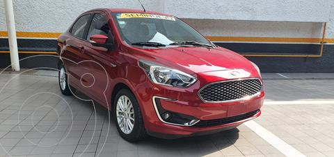 Ford Figo Sedan Titanium Aut usado (2019) color Rojo Rubi precio $215,000