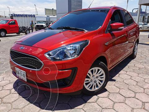 Ford Figo Sedan Impulse usado (2019) color Rojo Rubi precio $185,000