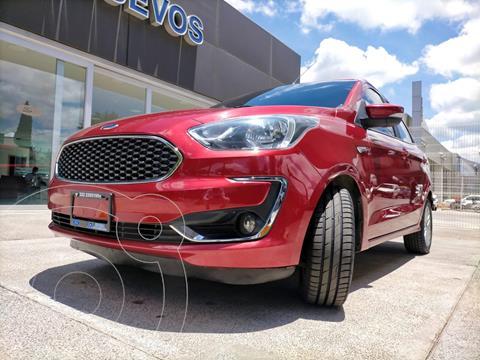 Ford Figo Sedan Titanium Aut usado (2019) color Rojo Rubi precio $229,900
