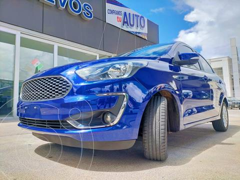 Ford Figo Sedan Titanium Aut usado (2020) color Azul precio $265,000