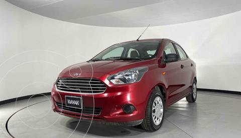 Ford Figo Sedan Impulse A/A usado (2018) color Rojo precio $164,999