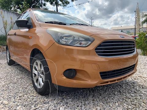 Ford Figo Sedan ENERGY L4/1.5 MAN usado (2016) color Naranja precio $139,999