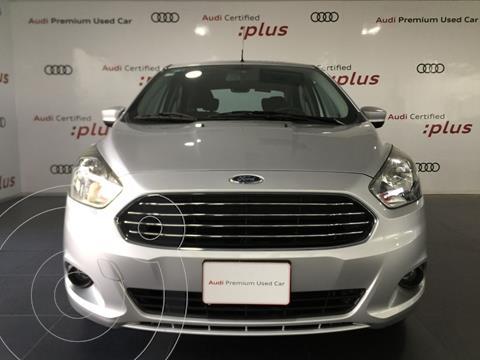 Ford Figo Sedan Titanium Aut usado (2016) color Plata financiado en mensualidades(mensualidades desde $4,163)