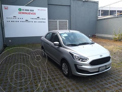 Ford Figo Sedan Impulse usado (2020) color Plata precio $203,000