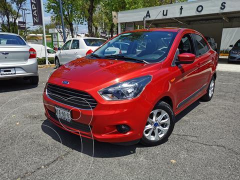 Ford Figo Sedan Aspire Aut usado (2017) color Rojo Rubi precio $200,000
