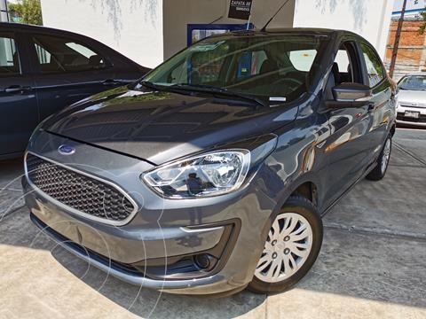 Ford Figo Sedan Impulse usado (2019) color Gris Hierro financiado en mensualidades(enganche $44,250 mensualidades desde $4,173)
