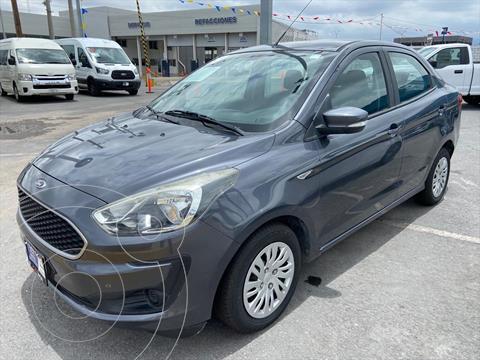 Ford Figo Sedan Impulse Aut A/A usado (2019) color Gris Oscuro precio $179,000