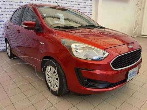 Ford Figo Sedan Impulse A/A usado (2019) color Rojo precio $159,000