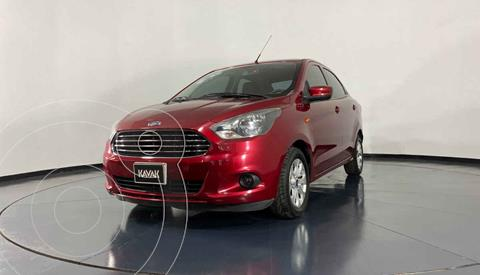 Ford Figo Sedan Titanium Aut usado (2018) color Rojo precio $184,999