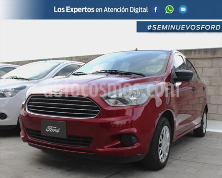 Ford Figo Sedan Impulse A/A usado (2018) color Rojo precio $165,000
