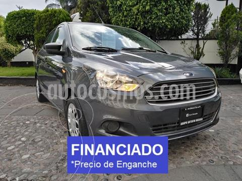 Ford Figo Sedan Impulse  usado (2018) color Gris Hierro precio $38,750
