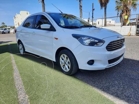 Ford Figo Sedan Titanium Aut usado (2017) color Blanco precio $168,000