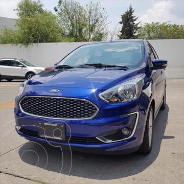 Ford Figo Sedan TITANIUM TA 4PTAS 1.5L usado (2020) color Azul Electrico precio $254,000