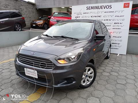 foto Ford Figo Sedán Energy usado (2018) color Gris precio $160,000