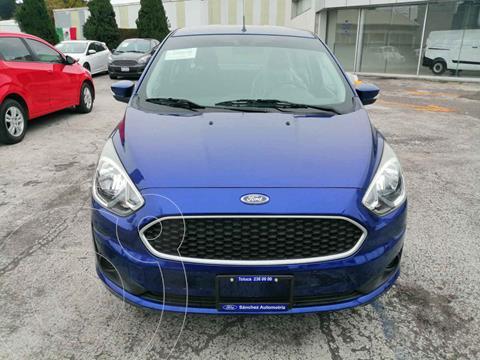 Ford Figo Sedan Impulse Aut A/A usado (2019) color Azul precio $195,000