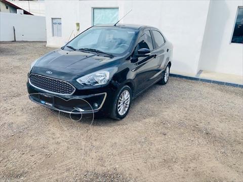 Ford Figo Sedan Titanium Aut usado (2019) color Negro precio $210,000