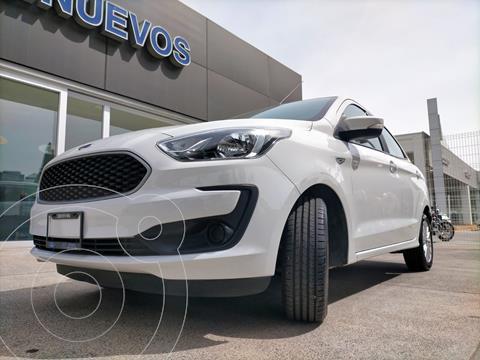 Ford Figo Sedan Energy usado (2020) color Blanco Oxford financiado en mensualidades(enganche $234,900)