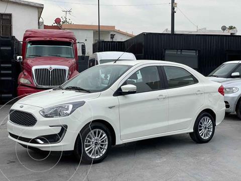 Ford Figo Sedan Titanium Aut usado (2020) color Blanco precio $223,800