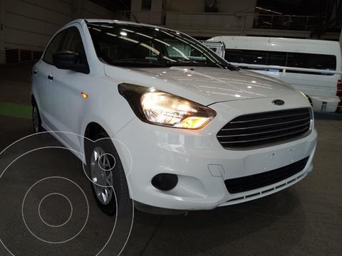 Ford Figo Sedan Impulse  usado (2018) color Blanco Oxford precio $173,000