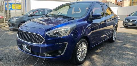 Ford Figo Sedan Titanium usado (2019) color Azul precio $199,000