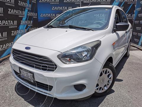Ford Figo Sedan Impulse A/A usado (2018) color Blanco Oxford financiado en mensualidades(enganche $42,500 mensualidades desde $4,013)