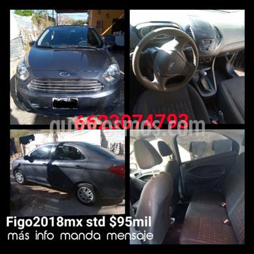 Ford Figo Sedan Impulse  usado (2018) color Gris Hierro precio $95,000