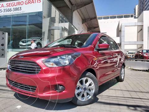 Ford Figo Sedan Titanium usado (2018) color Rojo precio $189,000