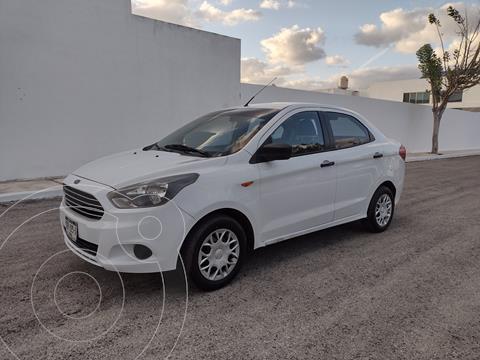 Ford Figo Sedan Impulse  usado (2017) color Blanco precio $117,000