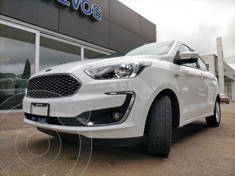 Ford Figo Sedan Titanium Aut usado (2020) color Blanco Oxford precio $259,900
