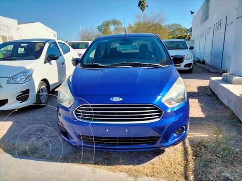 Ford Figo Sedan Impulse Aut A/A usado (2017) color Azul Electrico precio $140,000