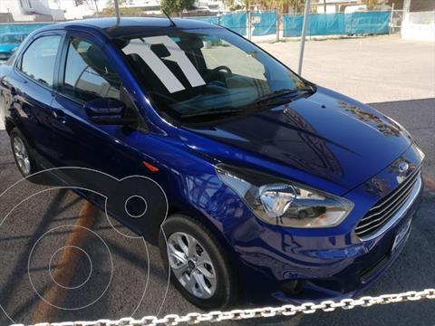 Ford Figo Sedan Titanium Aut usado (2017) color Azul Electrico precio $165,000