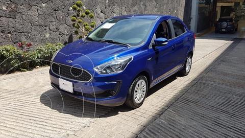 Ford Figo Sedan Impulse A/A usado (2019) color Azul Electrico precio $169,900