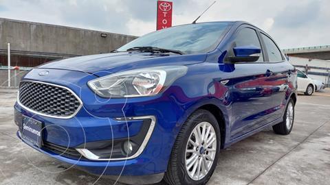 Ford Figo Sedan Titanium Aut usado (2019) color Azul precio $209,000