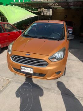 Ford Figo Sedan Energy Aut usado (2016) color Naranja precio $153,000
