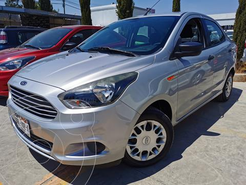 Ford Figo Sedan Impulse  usado (2018) color Plata Estelar financiado en mensualidades(enganche $43,500 mensualidades desde $4,103)
