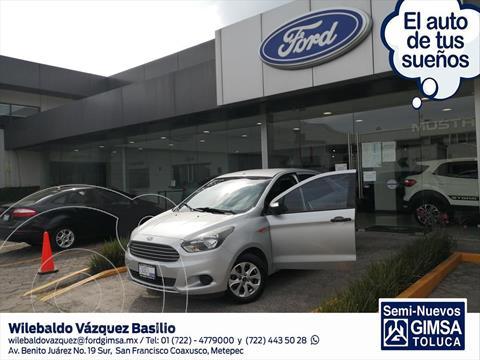 Ford Figo Sedan Energy usado (2018) color Plata precio $145,000