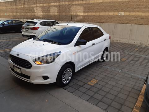 Ford Figo Sedan Energy usado (2017) color Blanco Oxford precio $119,000