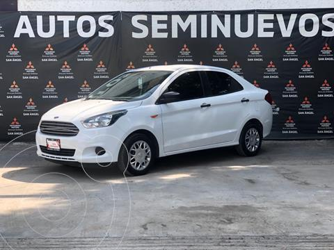 Ford Figo Sedan Impulse A/A usado (2018) color Blanco Oxford precio $175,800