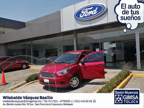 Ford Figo Sedan Impulse A/A usado (2017) color Rojo precio $122,000