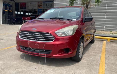 Ford Figo Sedan Impulse  usado (2018) color Rojo precio $140,000