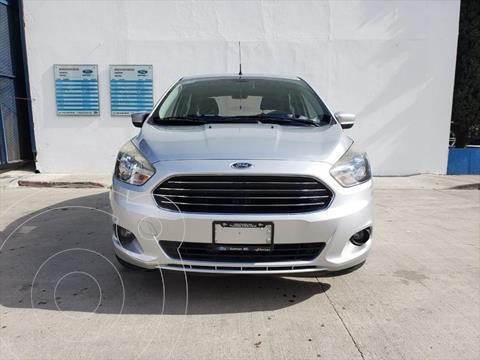 Ford Figo Sedan Titanium Aut usado (2017) color Plata precio $170,000