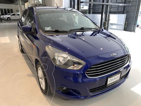 Ford Figo Sedan Titanium usado (2018) color Azul precio $189,000