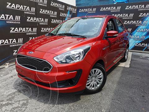 Ford Figo Sedan Impulse A/A usado (2020) color Rojo Rubi financiado en mensualidades(enganche $50,000 mensualidades desde $4,698)
