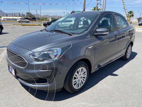 Ford Figo Sedan Impulse A/A usado (2019) color Gris Oscuro precio $169,000
