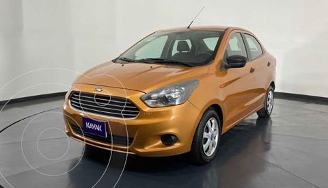 Ford Figo Sedan Impulse Aut A/A usado (2016) color Naranja precio $137,999