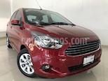 Foto venta Auto usado Ford Figo Sedan Titanium Aut (2017) color Rojo Rubi precio $169,900